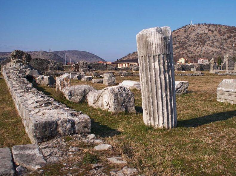 Древнеримский город Дукля