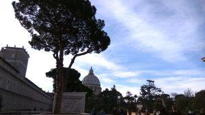 Ватикан, внутренний двор