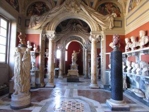 Музей Пио-Клементино, зал античной скульптуры