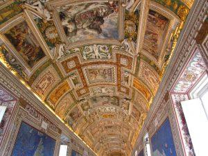 Ватикан, музеи - зал географических карт