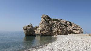 Остров Кипр, пляж Петра-ту-Ромиу