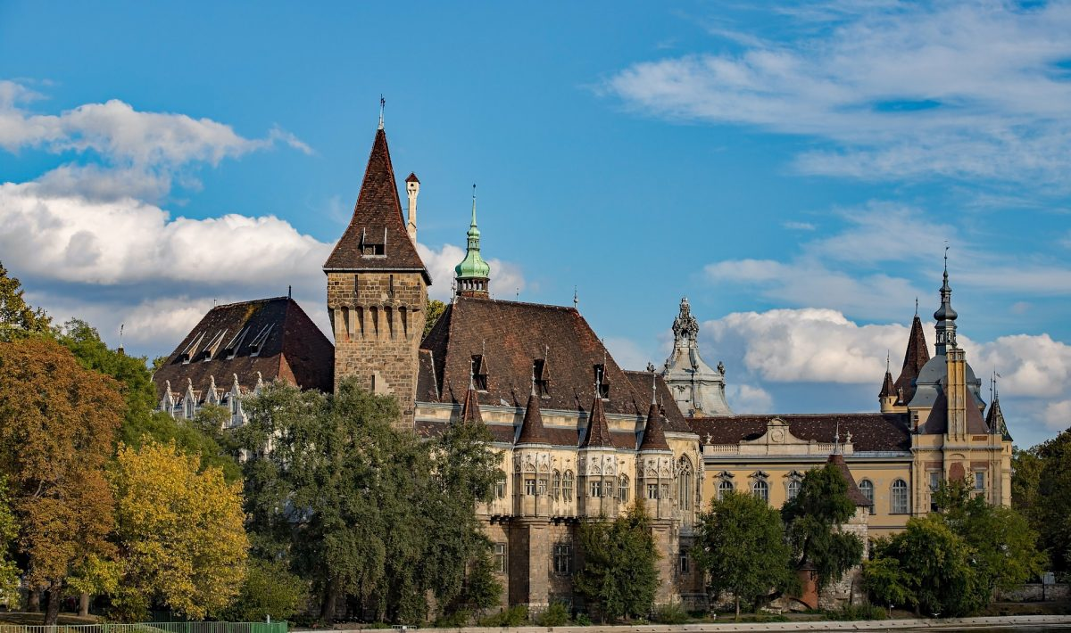 Будапешт Венгрия дворец