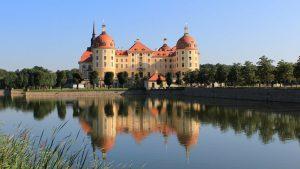 Германия замок Морицбург