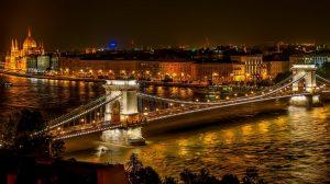 Венгрия цепной мост сечени