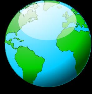 глобус карта